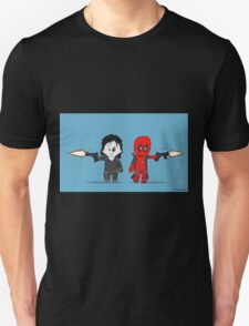 Chibi Deadpool and Domino  T-Shirt