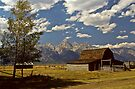 Barn on Mormon Row by Joe Elliott