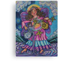 Tarot Pink Temperance Canvas Print
