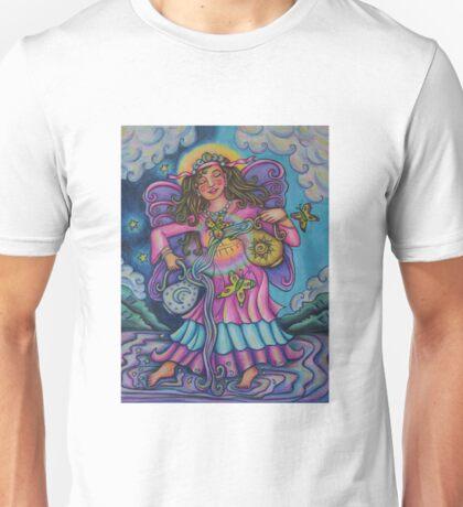 Tarot Pink Temperance Unisex T-Shirt