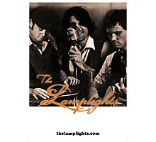 The Lamplights Gig Poster  Photographic Print
