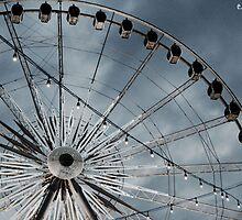 Ferris wheel in Niagara Falls by Emily Drew