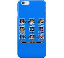 Mega Man x Super Smash Bros iPhone Case/Skin