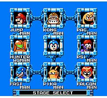 Mega Man x Super Smash Bros Photographic Print