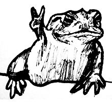 Toad of Peace Photographic Print