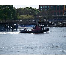 Tugboat- Prescott Park Photographic Print