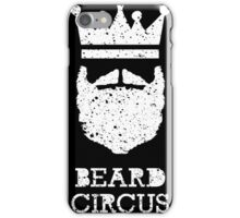 Beard Circus Logo Destroyed iPhone Case/Skin