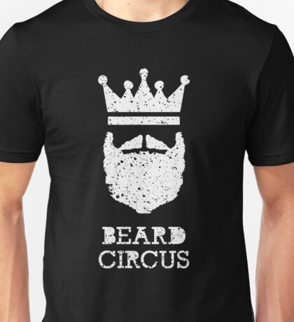 Beard Circus Logo Destroyed Unisex T-Shirt