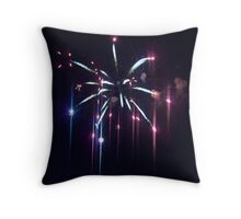 4th of July Fireworks- Portsmouth Throw Pillow