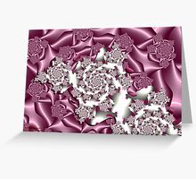 Think Pink 3 (for Breast Cancer) Greeting Card