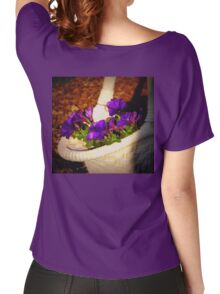 A basket of posie's Women's Relaxed Fit T-Shirt