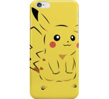 Pokemon Pikachu Art iPhone Case/Skin