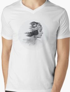 about today Mens V-Neck T-Shirt