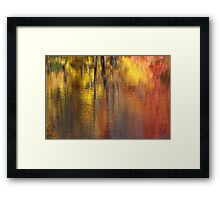 Road side view Framed Print