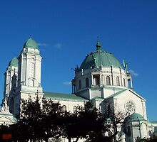 Our Lady of Victory Basilica by Marcia Plante