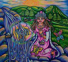 Princess of Cups  Triumph of Life Tarot by Roxiartwork
