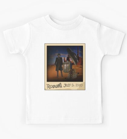 The War Doctor in Roswell Kids Tee