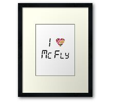 I Love McFly Framed Print