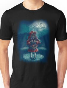 Big Bad Little Red Riding Wolf Hood Unisex T-Shirt