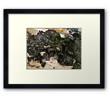 Abstract Minerals Framed Print