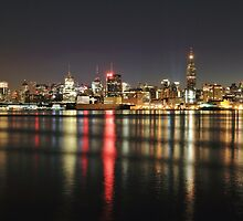 Gotham on the Hudson by pmarella