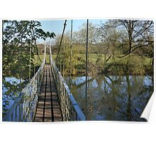 Canford Magna Bridge Poster