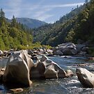 Weatherd River Rocks  by ToddDuvall