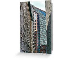 Downcity - Providence - Rhode Island Greeting Card
