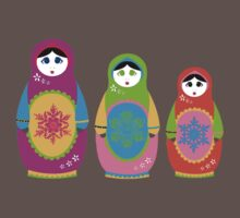 Matryoshka. Kids Clothes
