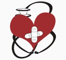 Heart & Stethoscope by leyea