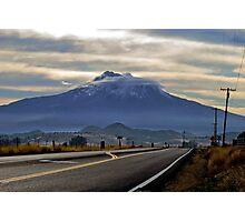 Mount Shasta Photographic Print