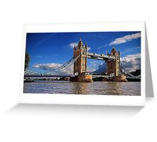 Cornish Granite -Tower Bridge Greeting Card