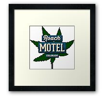 Marijuana Roach Motel Colorado Framed Print