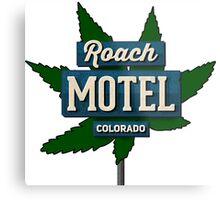 Marijuana Roach Motel Colorado Metal Print