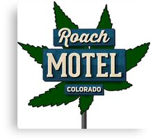 Marijuana Roach Motel Colorado Canvas Print