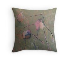 Guided by a tender hand Throw Pillow