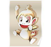 Pokemon Chimchar Cheers  Poster