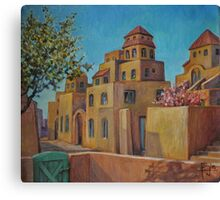 Imaginary Village Canvas Print