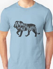 Animals Are Not Trophies Unisex T-Shirt