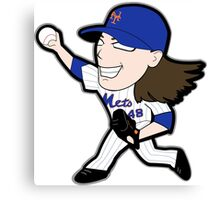 deGrom Canvas Print