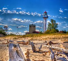 Whitefish Point Light Station by Peter Thorpe