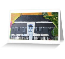 The Mary Poppins House Greeting Card