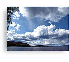 Lake Stuart, British Columbia, Canada Canvas Print