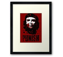 PUNISH Framed Print
