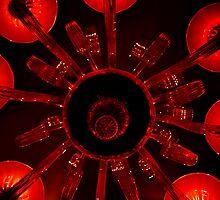 Red Chandelier by Jen Waltmon