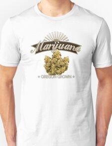 Marijuana Oregon Grown Unisex T-Shirt
