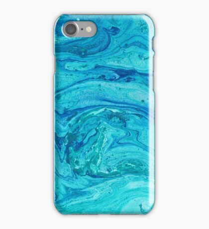 Shades of Blue #1 iPhone Case/Skin