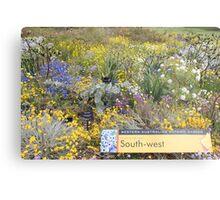 Wildflowers of the South West of Western Australia Metal Print