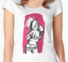 Don't Mess With Punk Chicks Women's Fitted Scoop T-Shirt