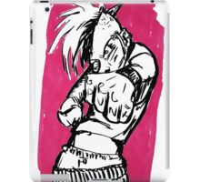 Don't Mess With Punk Chicks iPad Case/Skin